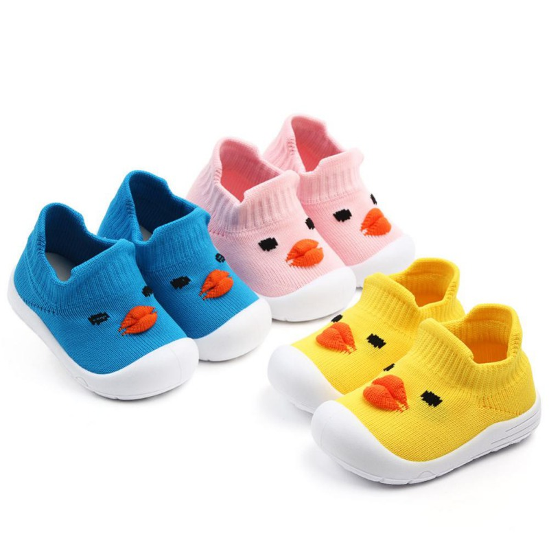 Baby Shoes First-Walkers Anti-Slip Soft-Bottom Toddlers Bebe Cartoon Moccasins Character-Style