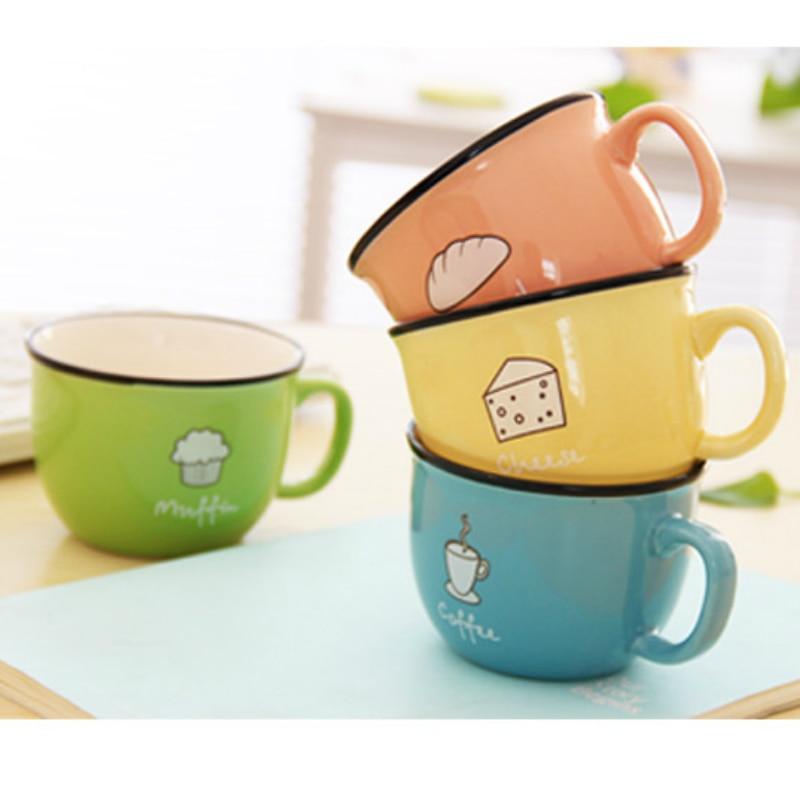 Skodelica za mleko skodelica piškoti sladkarije barva zakka keramična skodelica BZ161219
