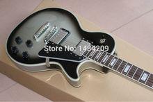 Wholesale – Custom Shop silver Burst Black edge Electric Guitar High Quality Musical instruments