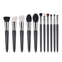 New Women's Fashion 11PCS Brushes Cosmetic Makeup Brush Sets Foundation Powder Eyeshadow Brush Set Health & Beauty