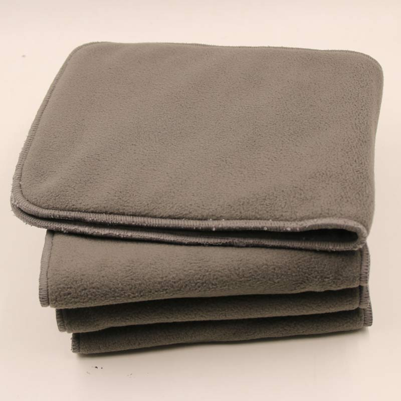Reusable Adult Cloth Diaper Nappy Liners Insert 5 Layers Bamboo Charcoal Washable Changing Pad Cloth Diaper Inserts 22X49cm