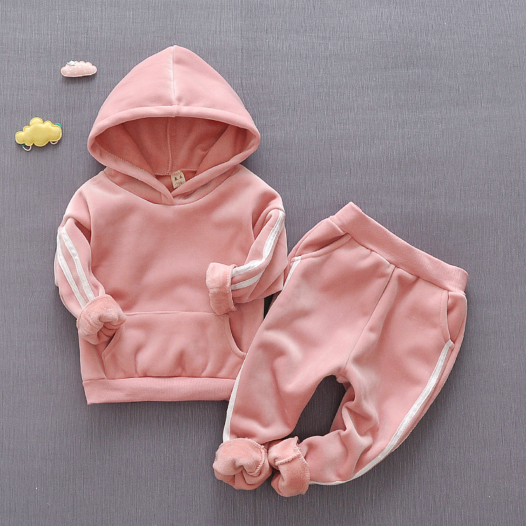 Kids Clothing Sets For Girl Child Clothes Girls Tracksuit Set Children Sports Suit Outfits 3 Year Hoodie 2 Piece Toddler costume pair of trendy rhinestone oval leaf earrings for women page 7