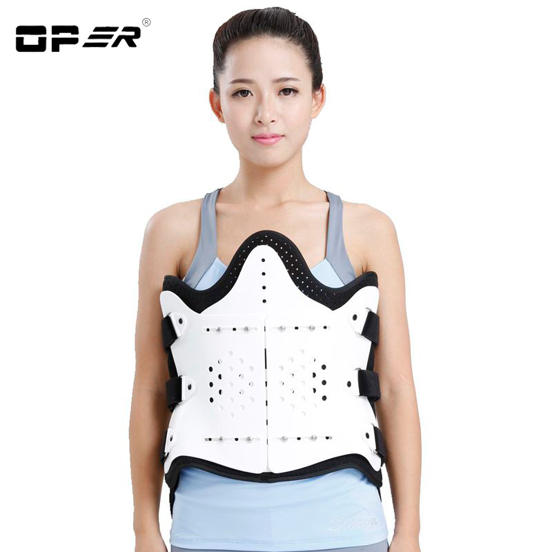 OPER No airbag strapless adjustable thoracolumbar brace lumbar disc herniation compress fracture bracket Lumbar Support BO-56-1 summer adjustable thoracolumbar orthosis spine lumbar compression fracture fixation support waist brace universal white color