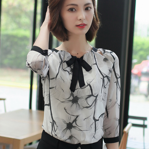 Shirts women 2019  white shirts blouse chiffon blouse plus size tops shirts ladies tops womens clothing women clothing 2705 50 Islamabad