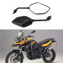 Универсальный мотоциклов зеркала аксессуары скутер части moto заднего вида зеркала для honda yamaha suzuki kawasaki ktm