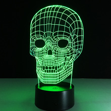 Creative 3D illusion Lamp LED Night Light 3D Graphics Acrylic lamparas Atmosphere Lamp Novelty Lighting home decorate