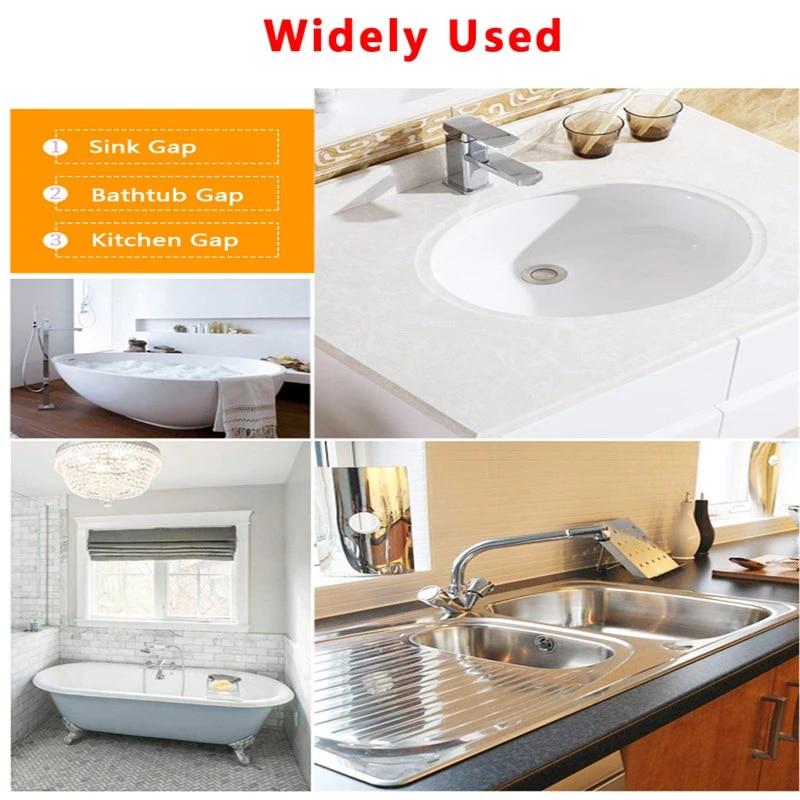Kitchen Sink Waterproof Stickers Mildew Waterproof Tape Bathroom Toilet Beauty Seam Strip Self Adhesive Line Stickers Tape Aliexpress