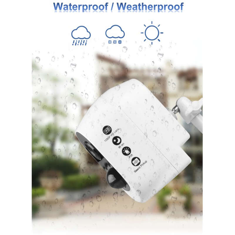 Image 3 - 1080P Waterproof Security Battery Wifi IP CCTV Camera Wire Free Easy Installation Two Way Audio Motion Sensor ICloud Service-in Surveillance Cameras from Security & Protection