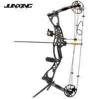 Compound Bow Archery Hunting Arrow Set Right Hand With 40 65lbs Draw Weight For Human Outdoor Shooting