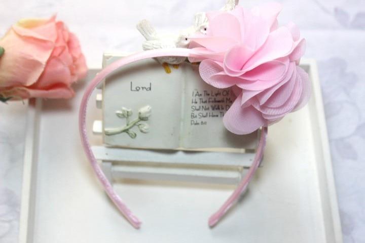 ΞF11 venda libre del bebé de hairclip arco grande de la flor de ...