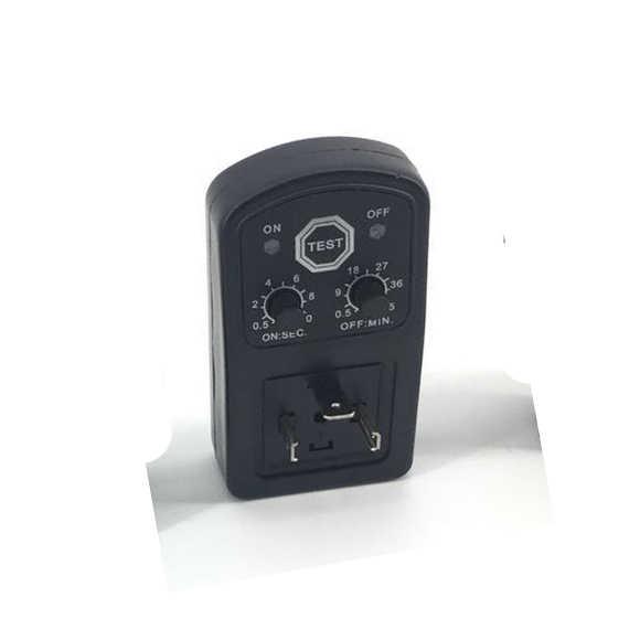 Free Shipping DIN43650A Coil Collector Electric Valve Timer 24V~240V  SOLENOID VALVE EDR TIMER