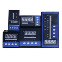 4 20mA DC input water liquid level pressure controller with 4 ways relay and DC24V voltage output water liquid level meter