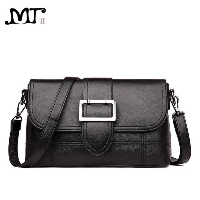 4c02776404bc MJ Women Shoulder Bag PU Leather Female Crossbody Bag Ladies Messenger Bags  Large Capacity Women Leather Handbag Mother Gift
