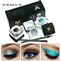 12 Colores Mini Rainbow Nube Delineador Gel Crema Con Pincel Maquillaje Cosmético Negro Impermeable de La Vida