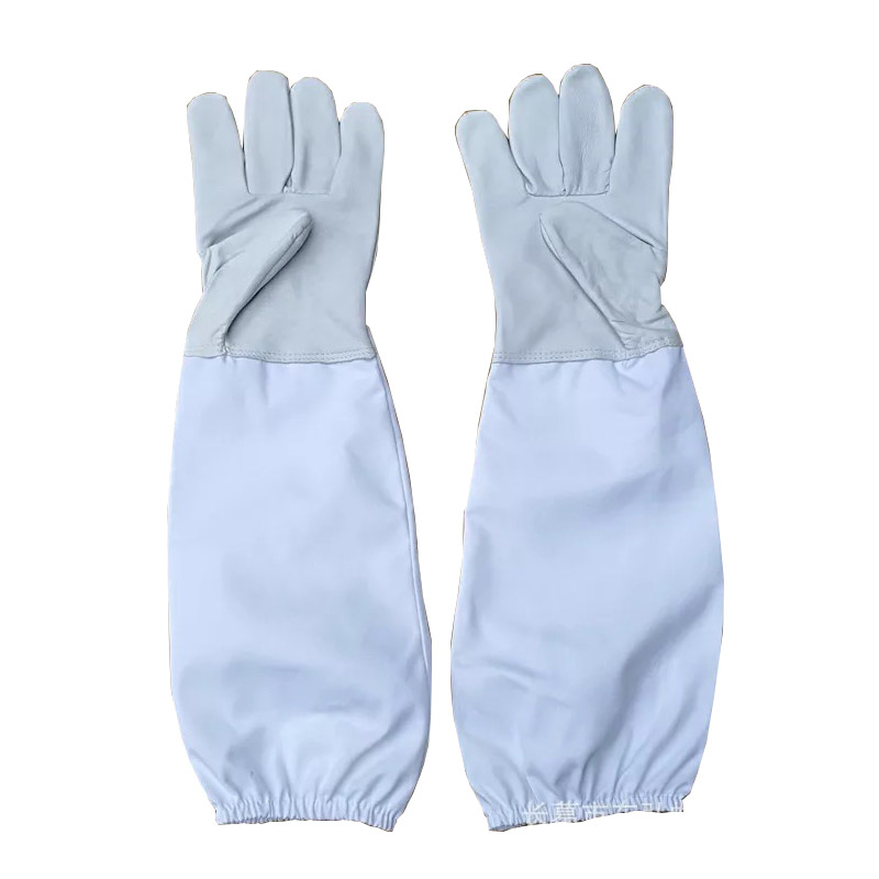 howells Beekeeping, anti bee Gloves, white sheepskin gloves, beekeeping special protective, beekeeping supplies