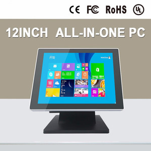 Image 4 - Reproductor de vídeo Full hd 1080 p, ordenador/máquina POS industrial todo en uno de 12 pulgadas con 4G de RAM, 32G SSD y wifi