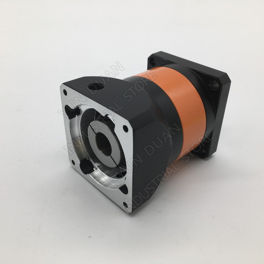 Planetary Gearbox  90mm Flange 16:1 Speed Ratio 16 19MM 12.7MM 1/2 Input Reducer for 750W 1 KW Servo Motor CNCPlanetary Gearbox  90mm Flange 16:1 Speed Ratio 16 19MM 12.7MM 1/2 Input Reducer for 750W 1 KW Servo Motor CNC