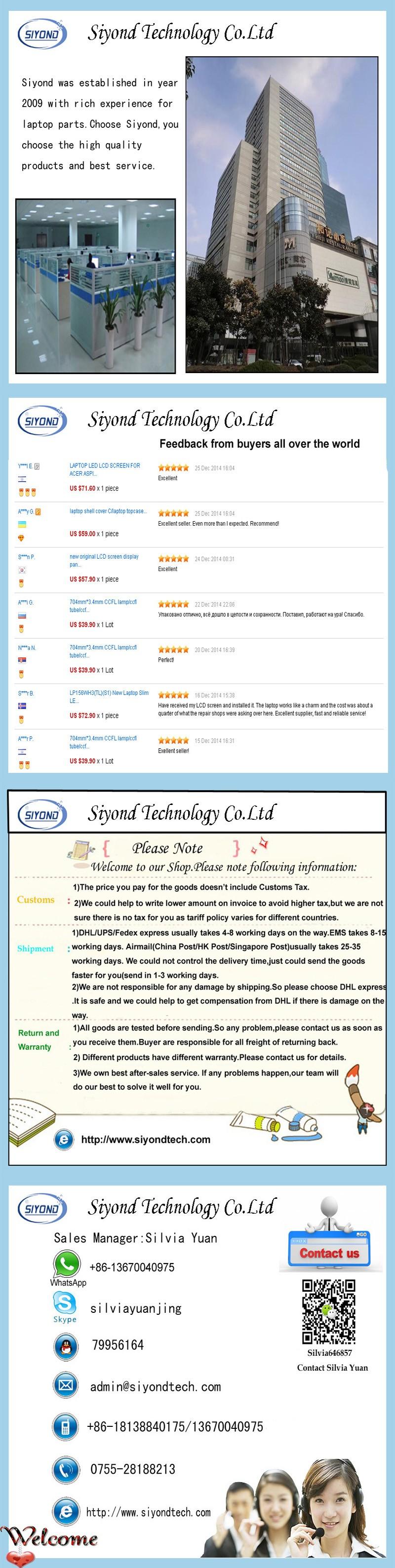 """новые класс и 15.6 """"жк сковороду для ноутбука дисплей для асер Aspire 5750"""