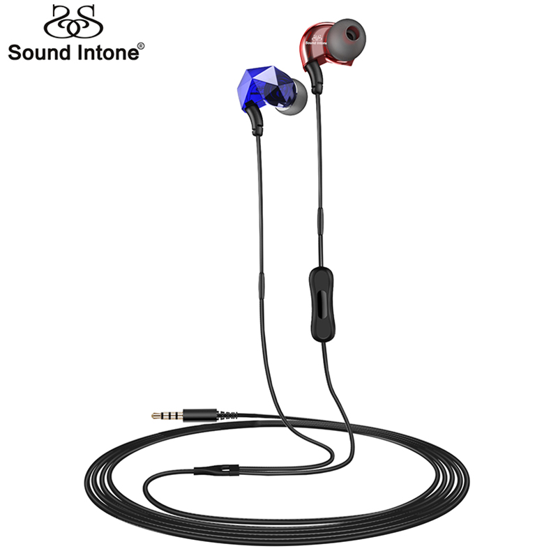 Earphone with Microphone 3.5mm Jack Wire earphones For Mobile Phone iPhone Xiaomi Computer