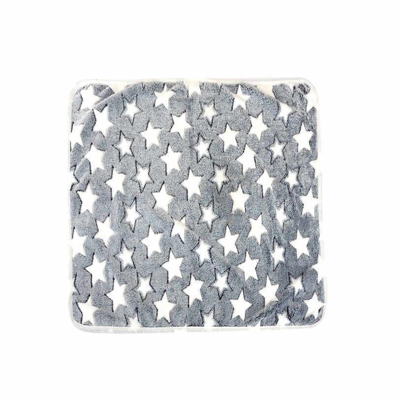 6 サイズペット毛布犬猫ベッドマット睡眠マットレス小中犬猫エアコンクッションカバータオルペット用品 40JA8
