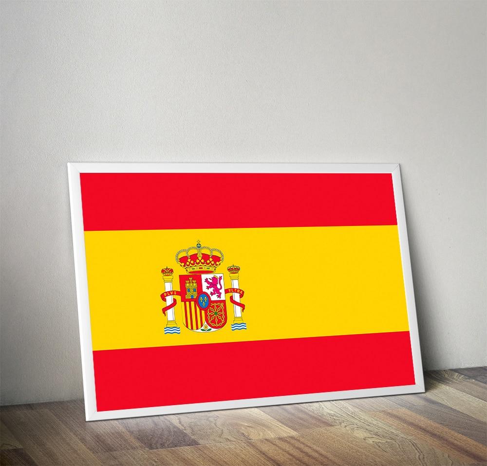 Unframed HD Canvas Print Spain Russia France Brazil Canada America ...