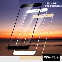 ثلاثية الأبعاد الزجاج المقسى ل Xiao mi mi 5s زائد غطاء كامل 9H طبقة رقيقة واقية واقي للشاشة ل Xiao mi mi 5s زائد