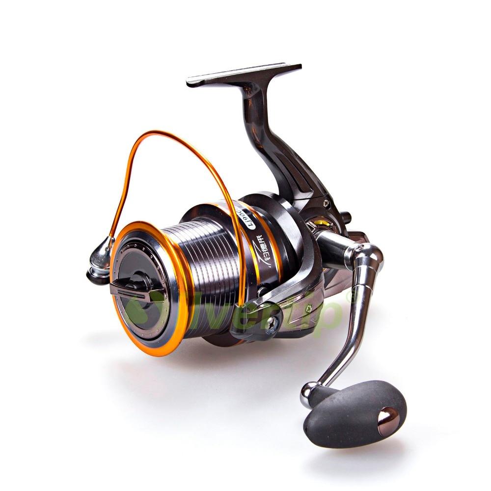 Free shipping 12 1 bb big game spinning fishing reel for Big game fishing reels