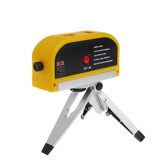 cross stitch line laser level leveler vertical laser measurement tool tripod