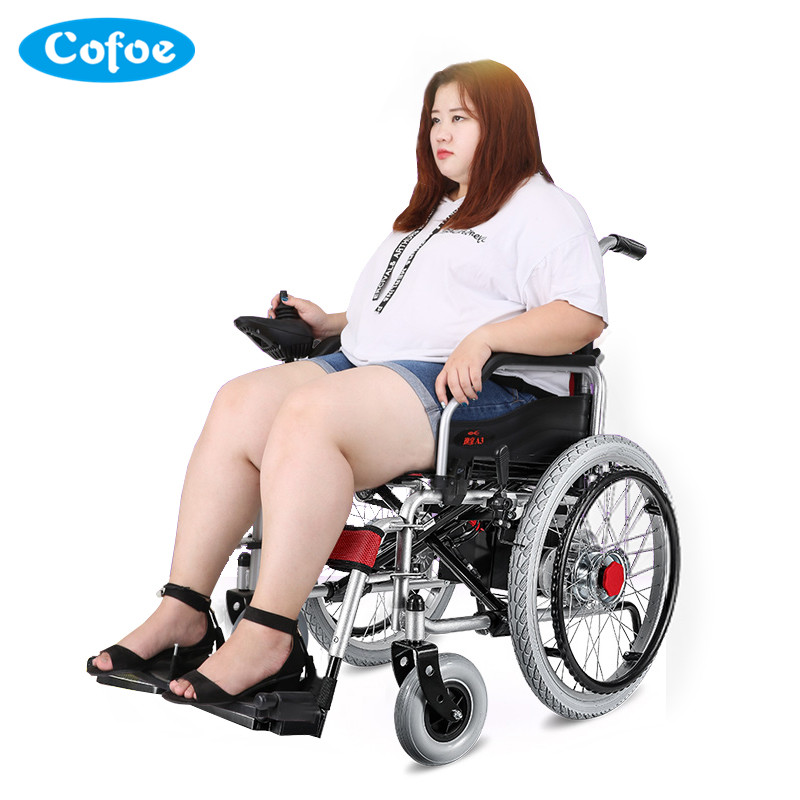 Cofoe Yixiang Electric Wheelchair Folding Portable Full-automatic Intelligent Four-wheel Scooter for Old People the Disabled wuliang l1 carbon fiber electric scooter mini portable folding electric scooter