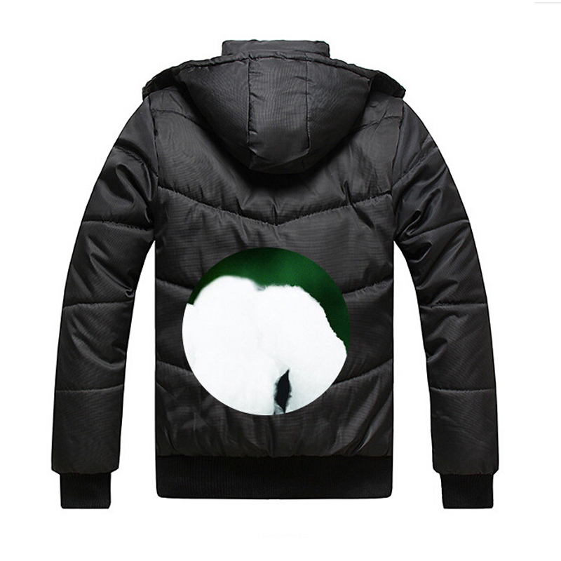 Klassieke Winterjas Heren.Winterjas Mannen Klassieke Zwart Solid Jacket Warm Mannelijke Jas