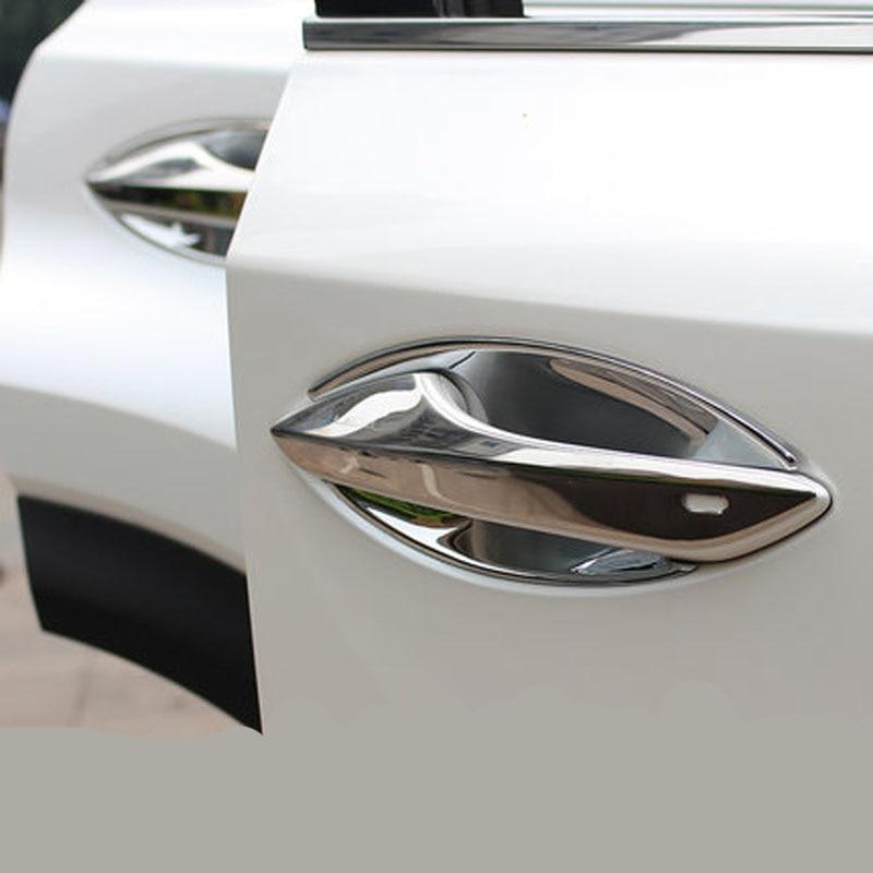 For Lexus NX300h NX200t NX200 NX vehicle refitting handle door handle Sequin Trim 4pcs set window visor vent shade sun rain deflector guard shield for lexus nx nx200t nx300h 2015 car styling