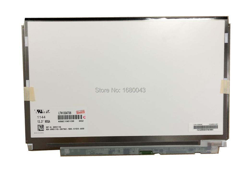 Bilgisayar ve Ofis'ten Dizüstü Bilgisayar LCD Ekran'de LTN133AT05 fit LTD133EWDD 13.3 LCD EKRAN Paneli sadece Dell XPS dizüstü bilgisayar title=
