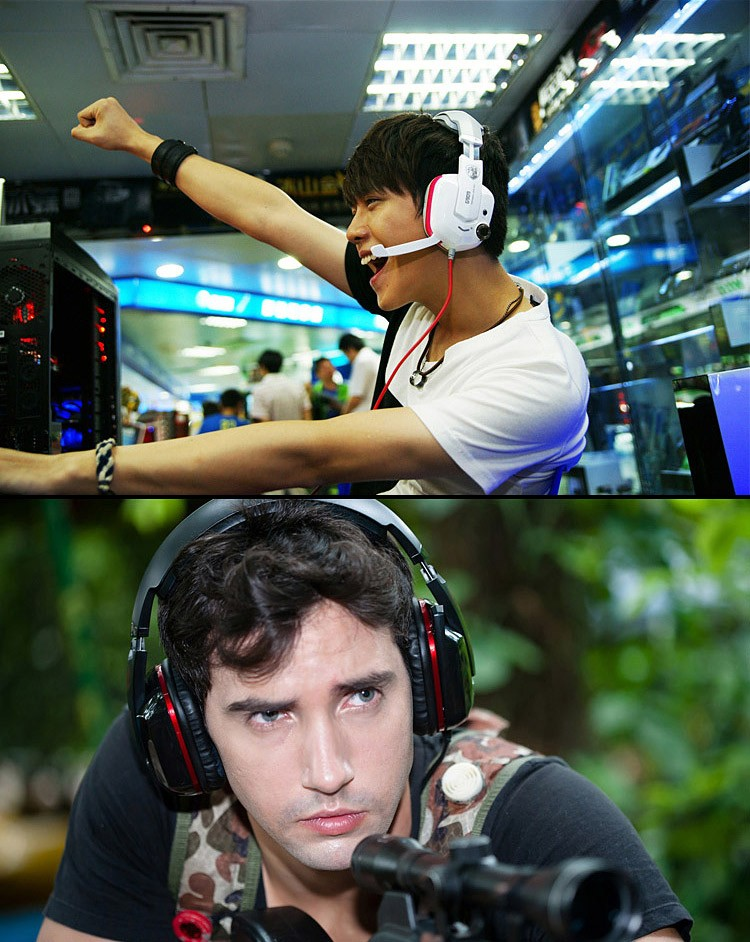 Pro Gaming Headphones With MicrophoneUSB Plug Somic G909 7.1 Surround Sound Game Stereo  Earphone Headset+ Shock (7)