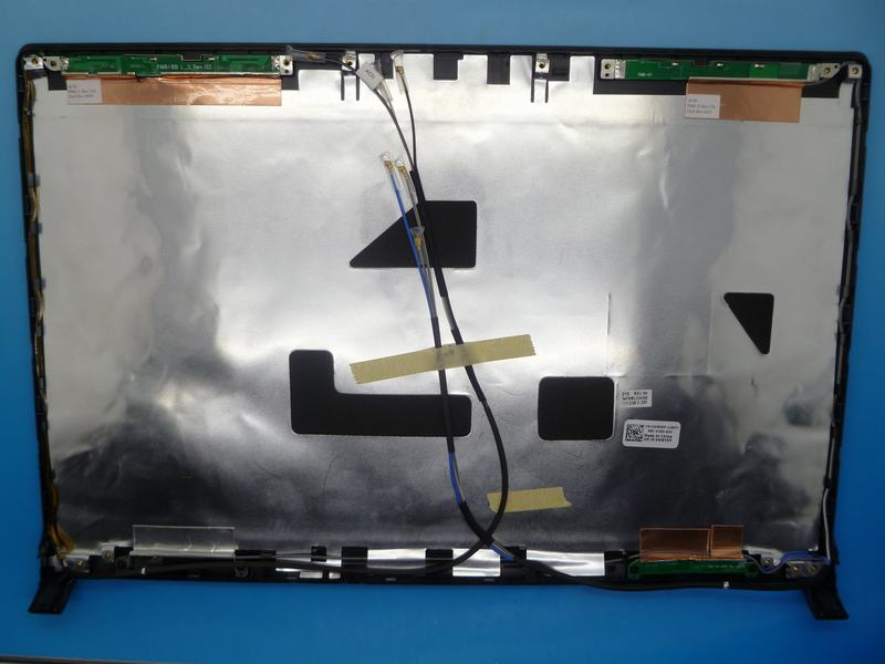 ФОТО Laptop Top Cover For DELL 1555 1557 1558 black 34FM8LCWIG0 DP/N: 0W855P W855P