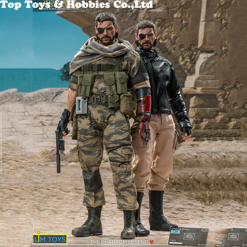 For Collection LIMTOYS 005 Ishmail And Ahab EP52-Double Phantom Edition Toys Action Figure Gift 2 full set doll