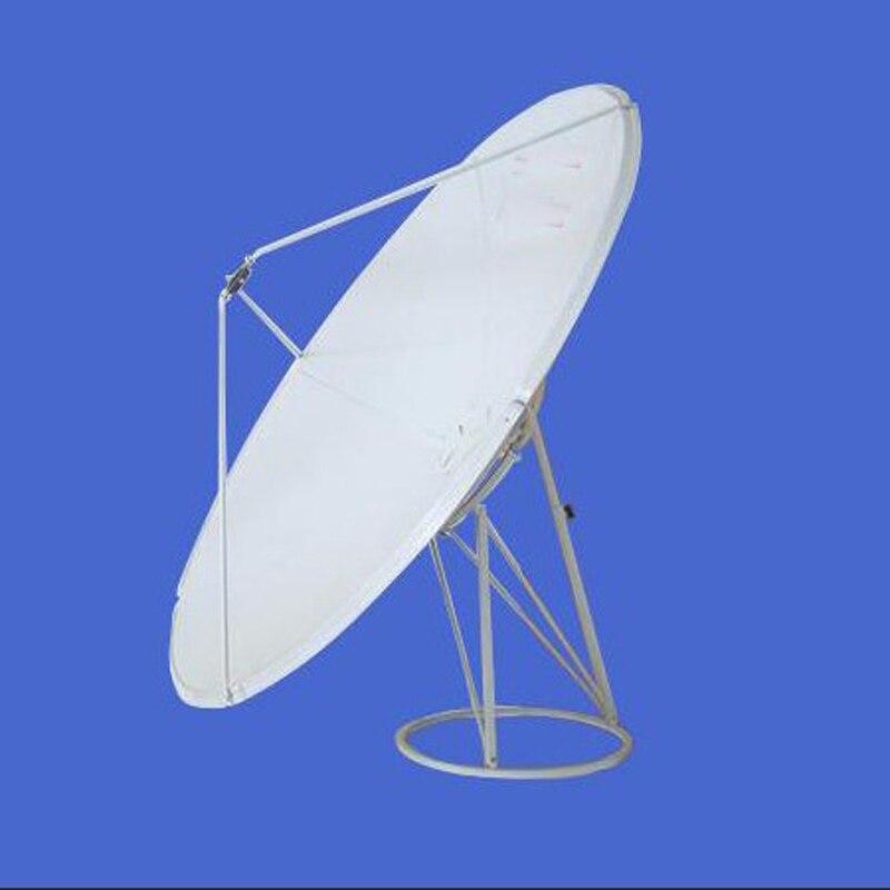 Banda C 180 CM antena de satélite antena parabólica frete grátis