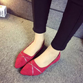 2016 New Summer Europe and America flats base women flats pointed toe solid flats heels comfortable casual women flats ST676