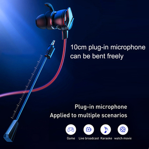 Image 2 - Baseus Gaming Koptelefoon Voor Pubg Controller GAMO 15 3D Stereo Oortelefoon Voor Mobiele Pubg Gamer Met Afneembare Hd Mic