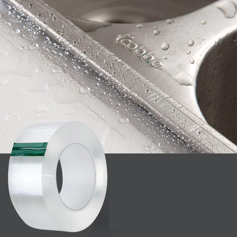 PVC Waterproof Mildew Proof Adhesive Tape Kitchen Sink Joint Crevice Sticker Corner Line Sticking Strip