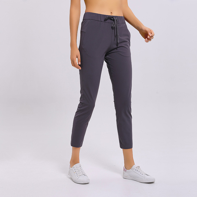 NWT Women Workout Running Leggings 4 Way Stretch Fabric Super Quality Yoga Pants with Side Pockets Outdoor Sports Tights 5