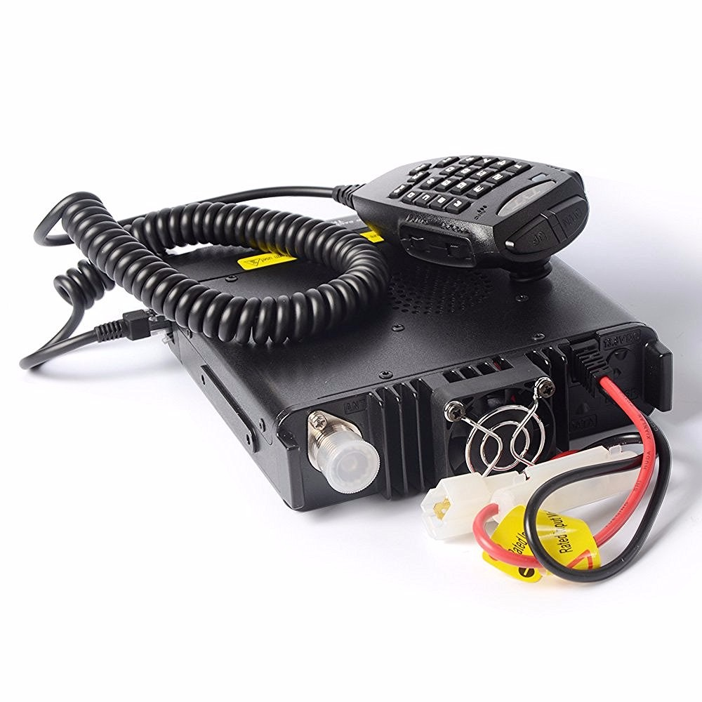 Image 3 - 1901A TYT TH9800 TH 9800 Mobile Transceiver Automotive Radio Station 50W Repeater Scrambler Quad Band V/UHF Car Truck Radio-in Walkie Talkie from Cellphones & Telecommunications