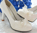 100% handmade womens wedding shoe all heel customs made heeled wedding shoe for brides in stock quick shipping sales! XNA 076