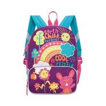 Рюкзак детский Grizzly, лилово - бирюзовый