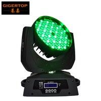 Haute Qualité Prix de Gros 108x3 W RGBW Led Moving Head Light Wash avec À Faible Bruit Pour DJ De Mariage Et Événement DMX512 12 canaux