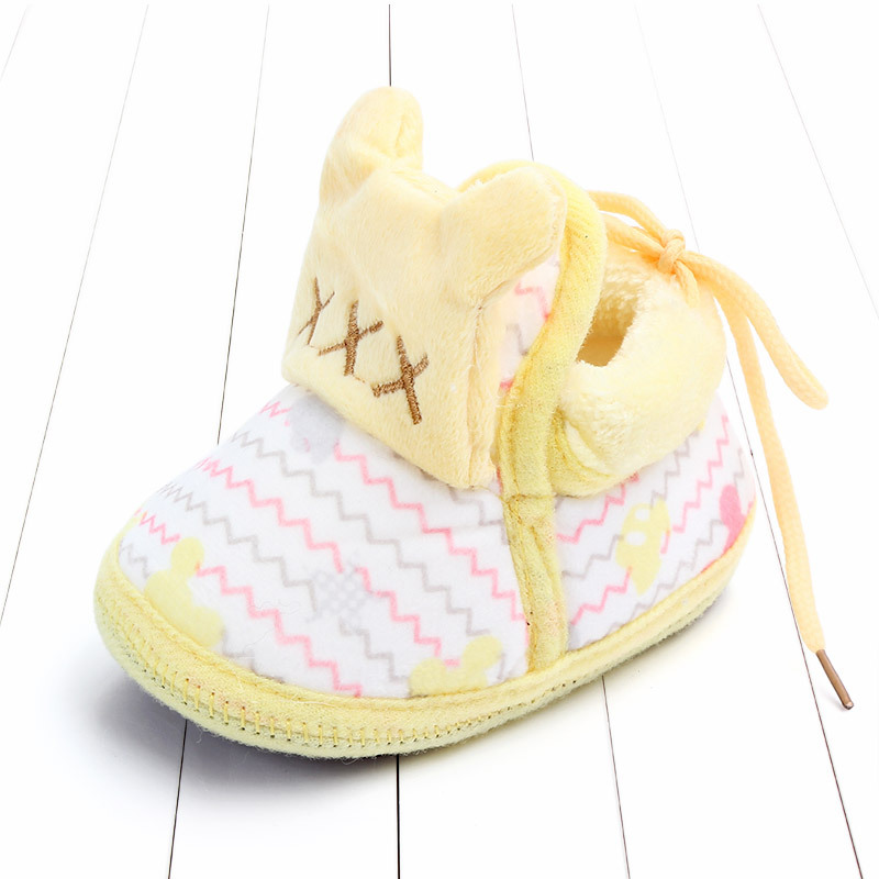 Indoor First Walkers Baby Shoes Cotton Anti-slip Booties Winter Wammer Baby Girl Boy Shoes Newborn Slippers Footwear Booties (41)