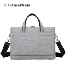 """2017 Scorching Canvasartisan Messenger Bag For Laptop computer 14.1″,15.four"""",15.6 inch, Purse Sleeve Case For Macbook 15.four"""", Free Drop Delivery"""