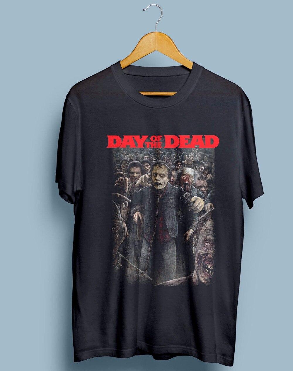 Design t shirt gildan - Design Tee Shirt Gildan Men S Short Sleeve Printing Machine O Neck Day Of The Dead