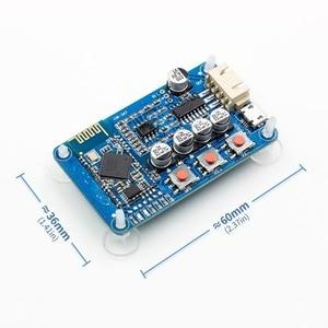 Image 1 - Otomatik bağlantı! CSR8635 PAM8403 Stereo amplifikatör modülü Bluetooth 4.0 HF11 dijital ses alıcı kurulu 5V Mini USB