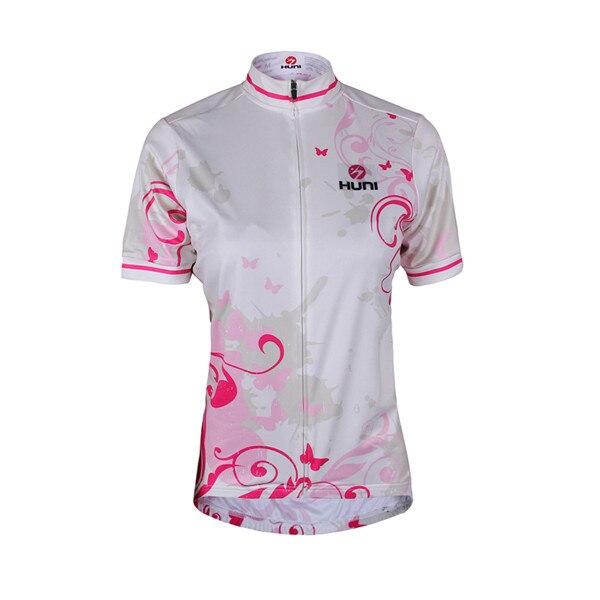 Cycling, Sleeve, Short, Women, Jerseys, Huni
