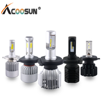 LED Car Headlight Bulb H7 H4 H1 12V Auto Led Lamp 6000K Automobiles Light 12000LM H11